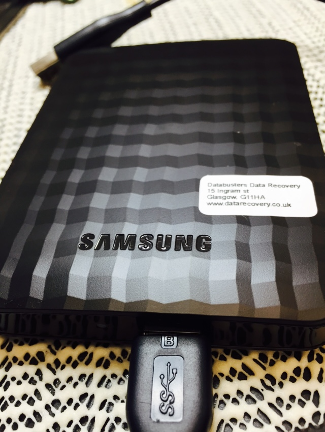 Samsung USB3 Data Recovery