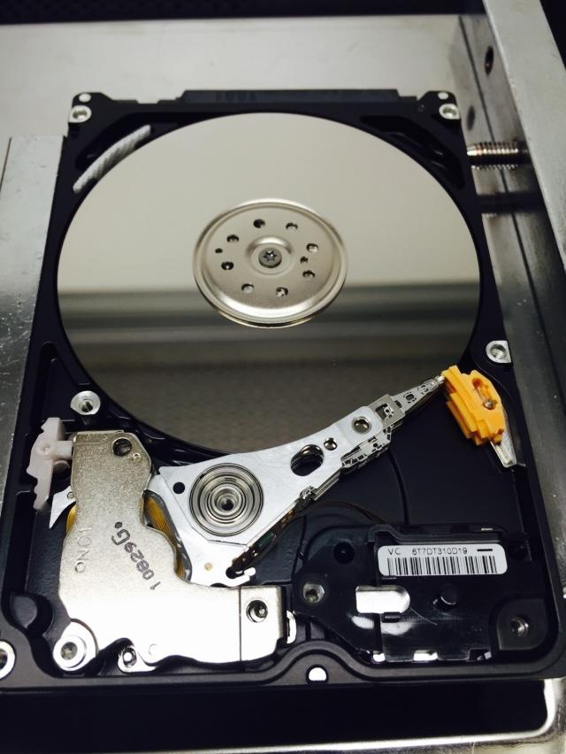 beeping hard drive