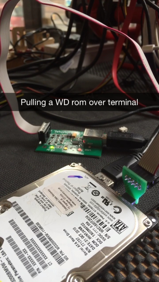 Pulling the rom from a passport