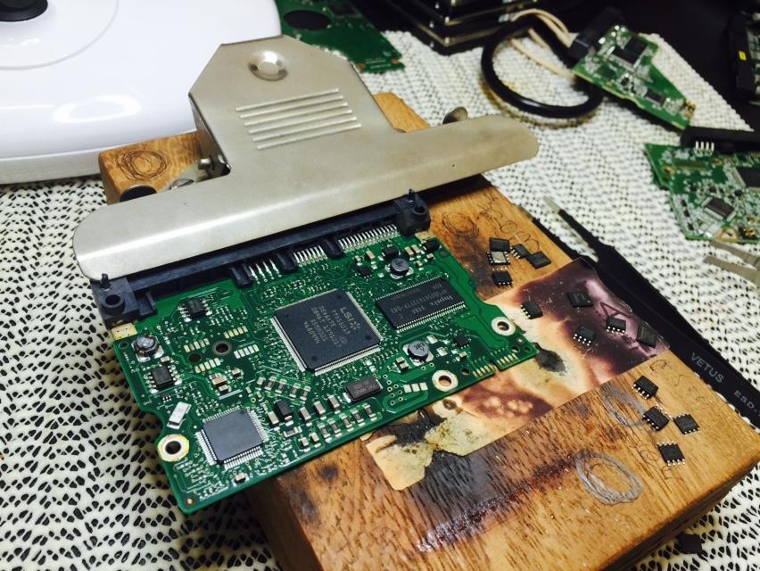 Seagate PCB Rom Swap
