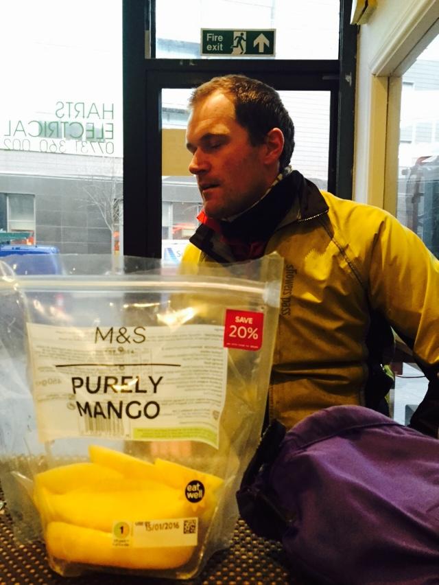 Charlie didn't want any mango