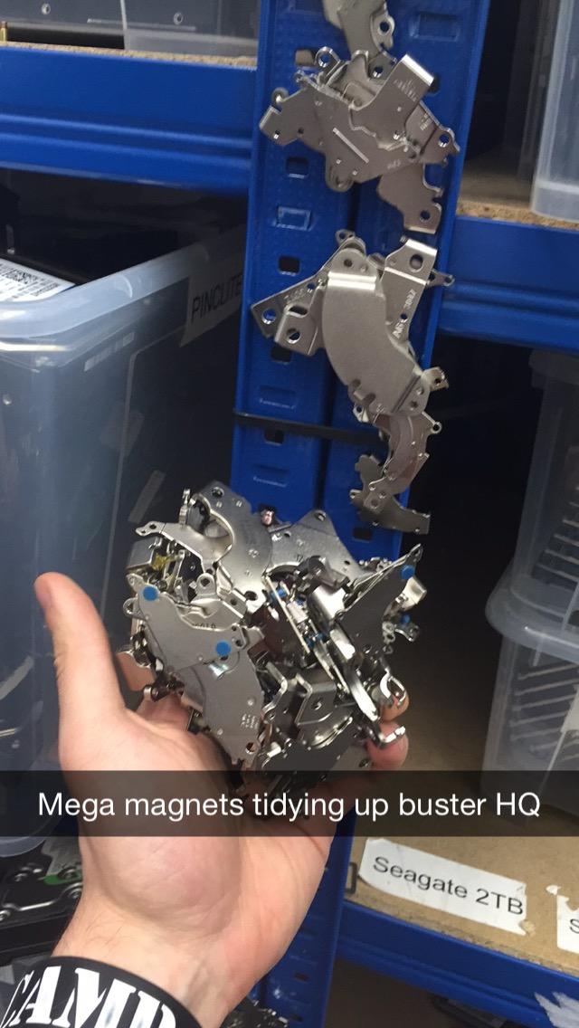 Hard Drive Magnets