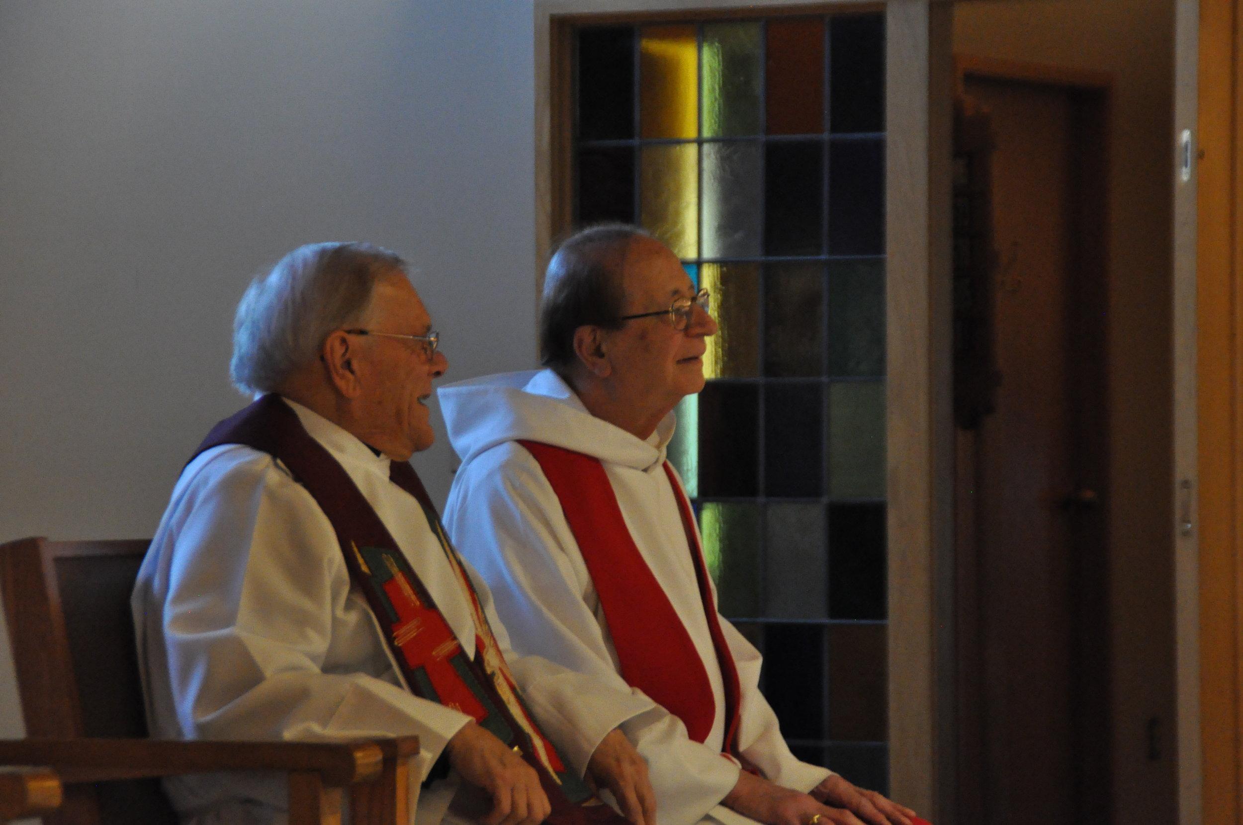 Father Lajack & Father Krizner