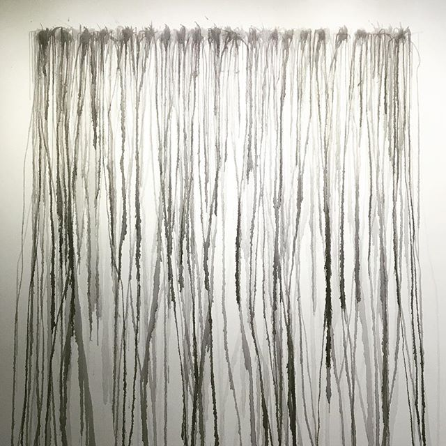 Site specific installation by Laura Scandrett 👏👏👏