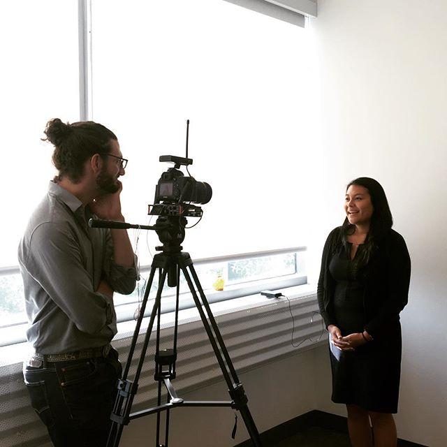 Video interview of financial stories at #popup Financial Empowerment Center