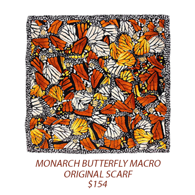 Purchase:  Monarch Butterfly Macro Original Scarf