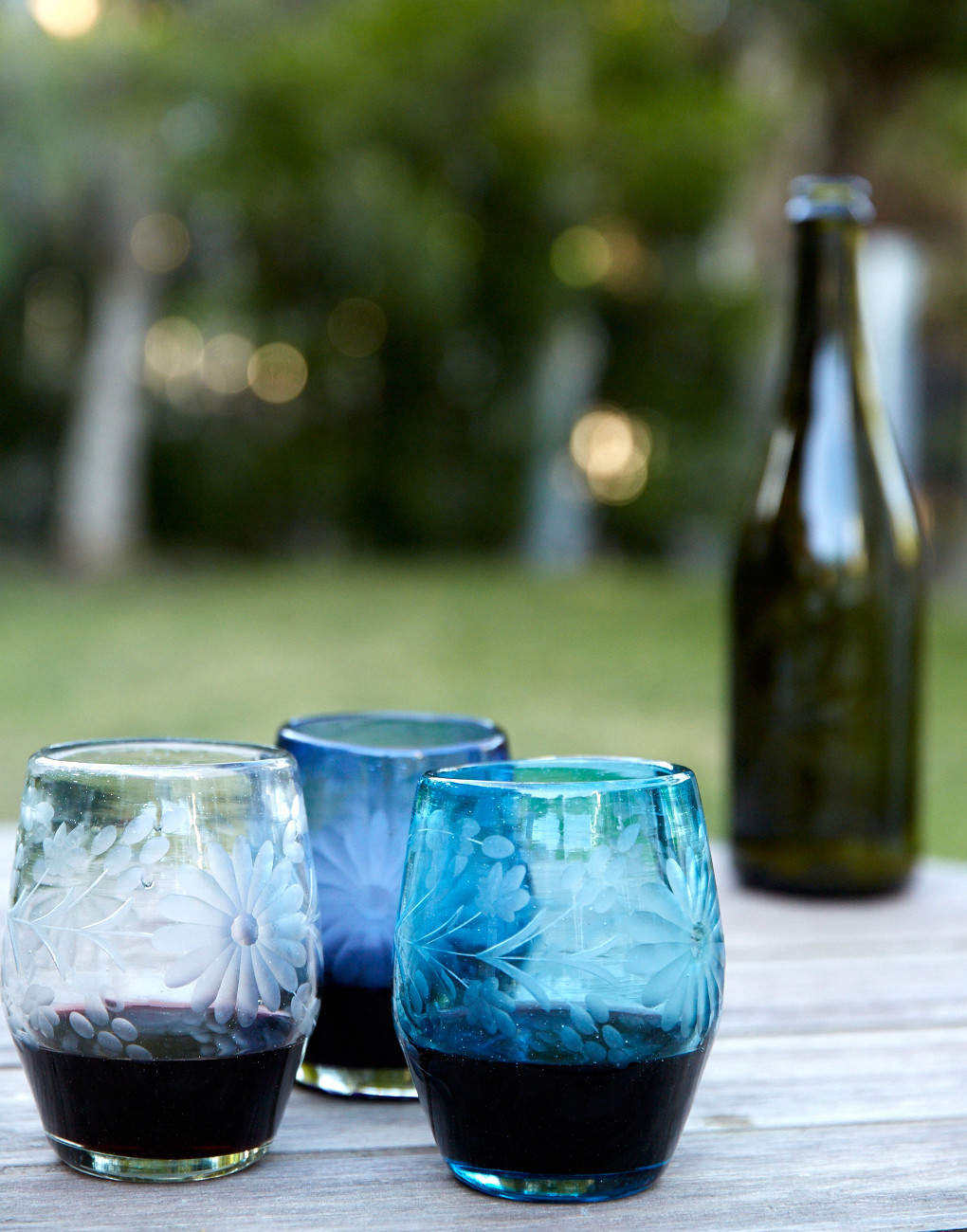 The Little Market    Mexican Stemless Wine Glasses // $16.00