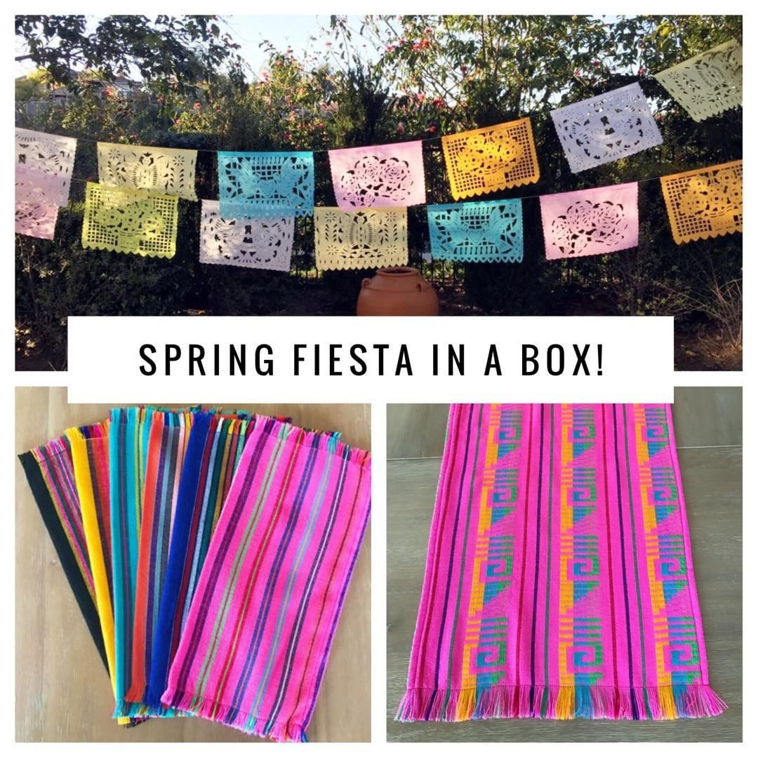 MesaChic's 'fiesta in a box' giveaway (Credit: MesaChicParties.com)