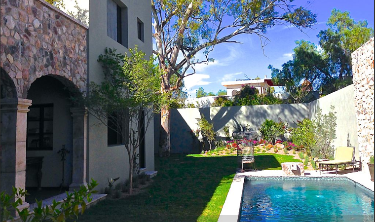 The 'Sweet Spot' retreat home in San Miguel de Allende. (Credit: SweetSpotStyle.com)