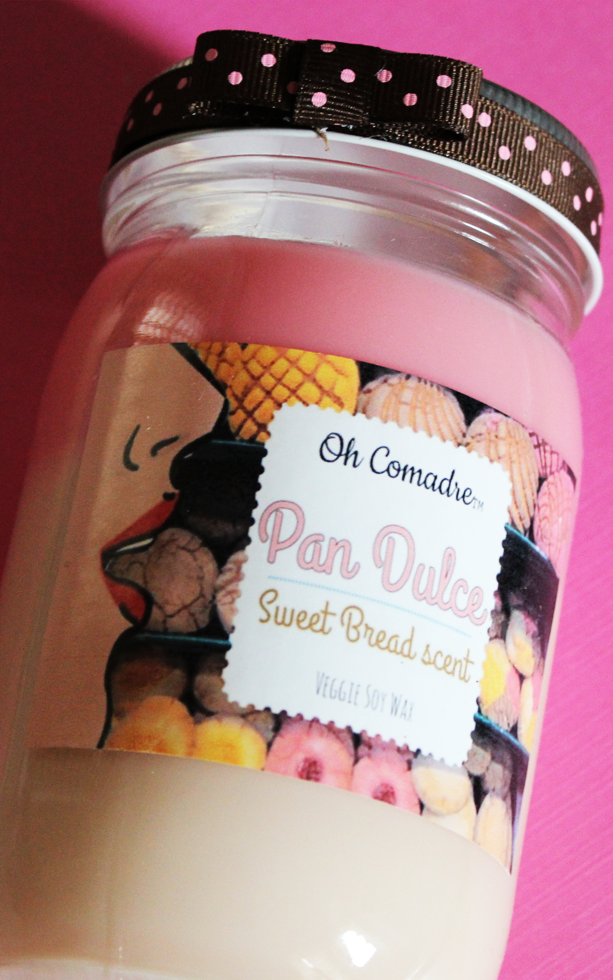 Oh Comadre Candles    Pan Dulce // $13.99