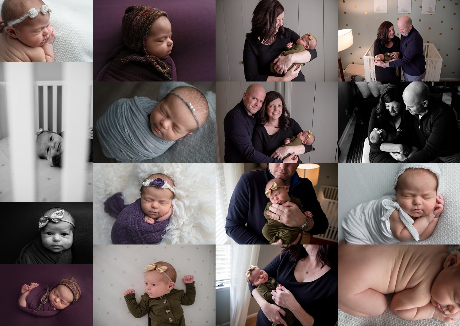 Newborn Posed+Lifestyle Session
