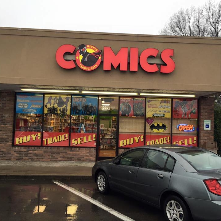 Rick's Comic City, Clarksville