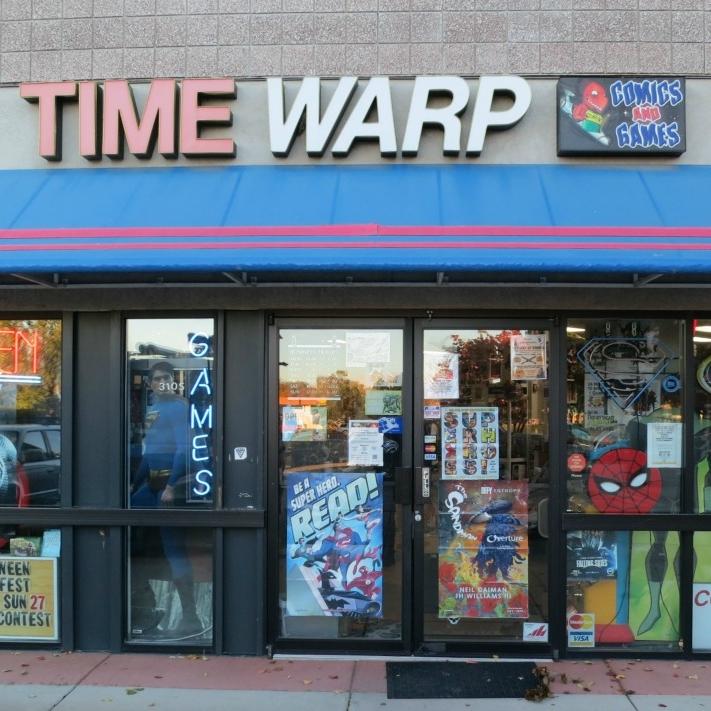 Time Warp, Boulder