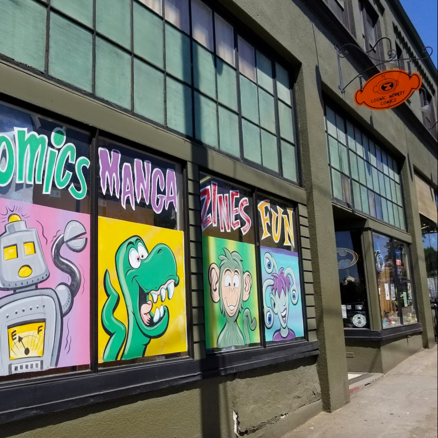 Cosmic Monkey Comics, Portland