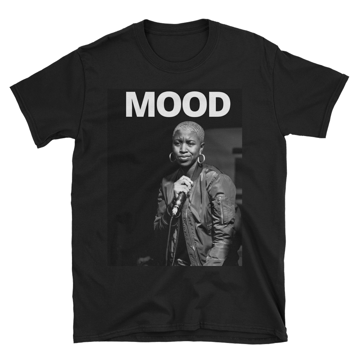 Jones Stage MOOD T Shirt - $25  Available in Black