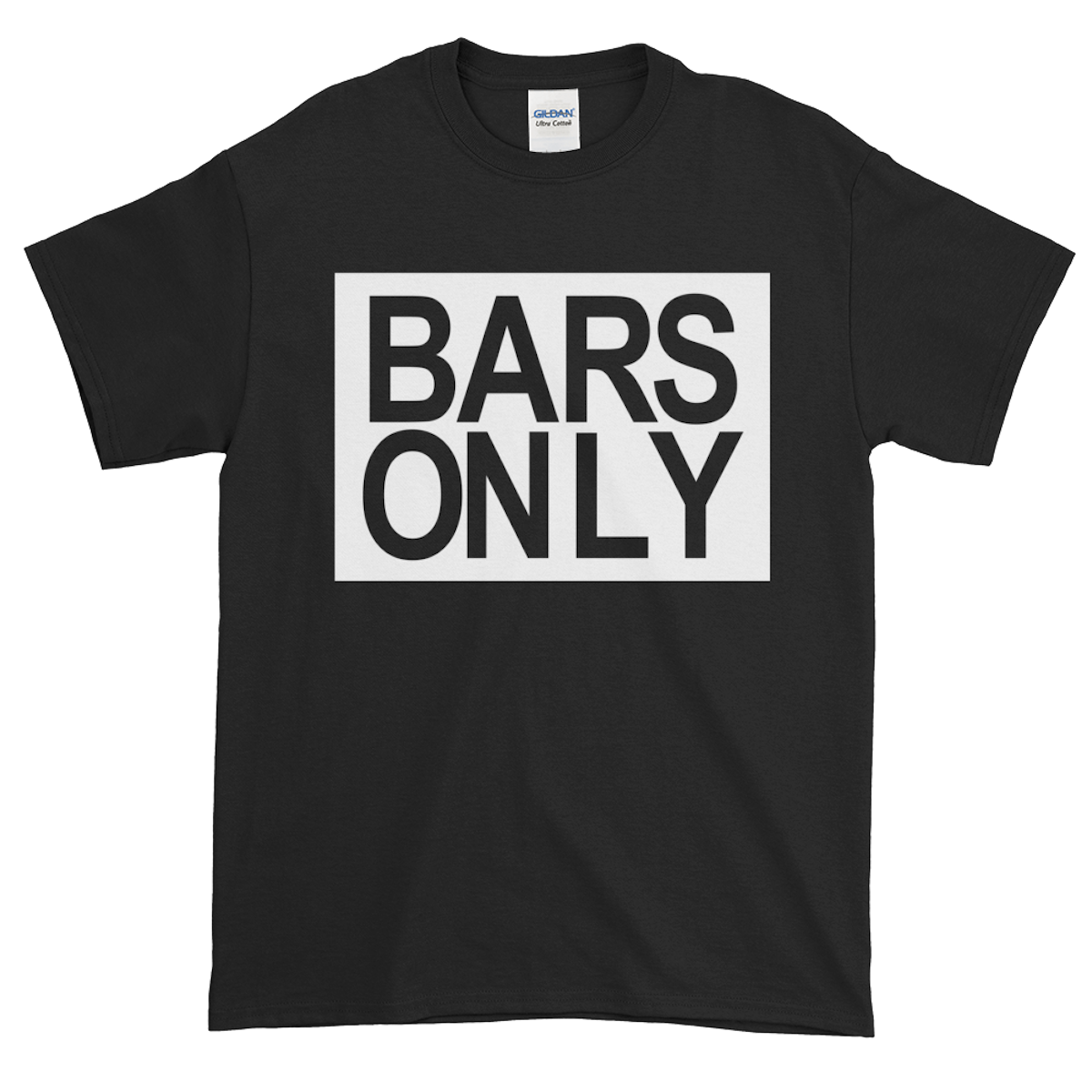 BARS ONLY Logo T Shirt - $22.99                         6 Colors
