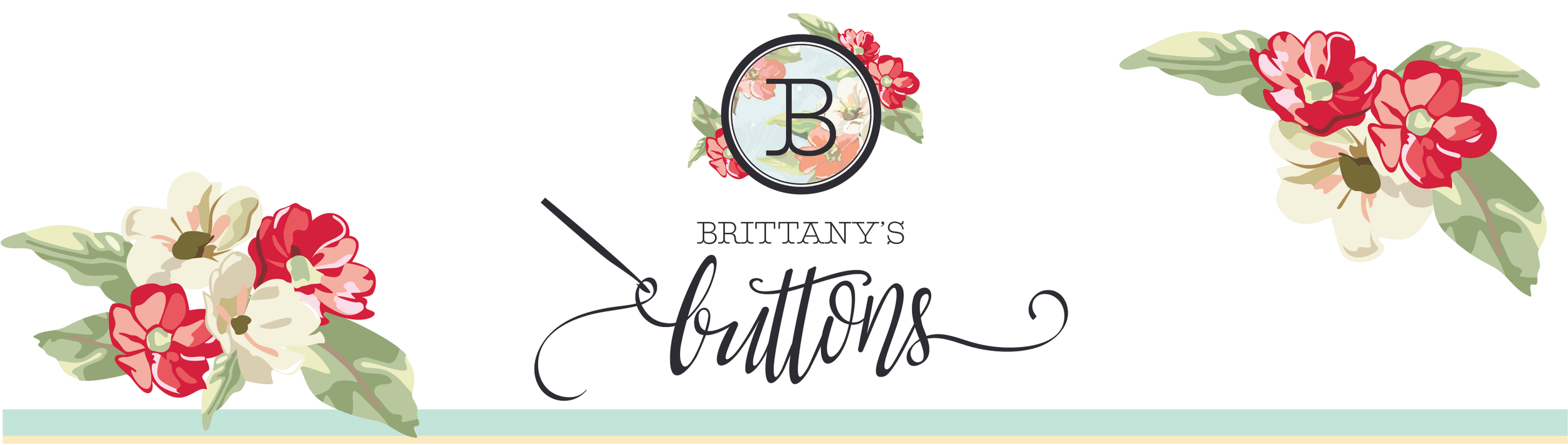 Brittany's Buttons Branding
