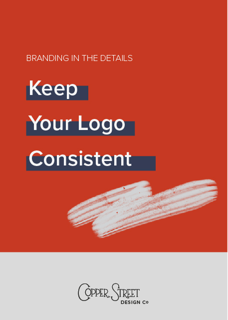 Find out why you should try to keep you logo always looking the same, unless you are going for a complete rebrand.