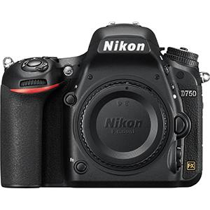 Nikon D750 Digital SLR Camera (Body Only)  Daily Rental $100.00 Weekly Rental $400.00