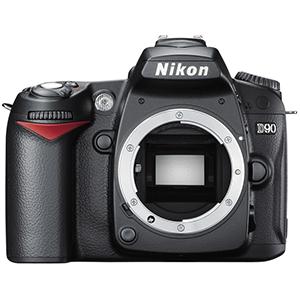 Nikon D90 Digital SLR Camera with 18-105mm lens  Daily Rental $50.00 Weekly Rental $200.00