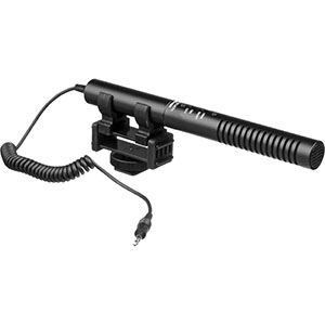 Azden Directional Shotgun Microphone   Daily Rental $15.00 Weekly Rental $60.00