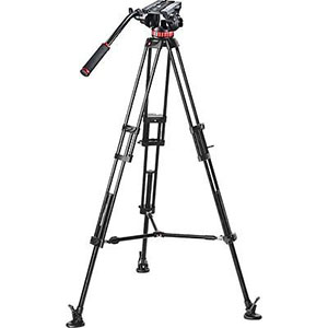 """Pro Video MVH502A with 546B Tripod   Load Capacity 8.82 lbs. Max Height 66.14""""  Daily Rental $15.00 Weekly Rental $60.00"""