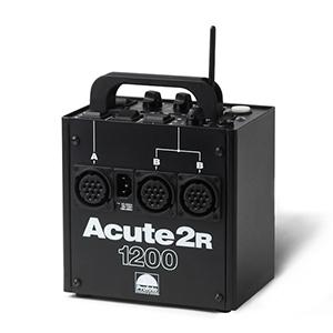 Profoto Acute2R 1200 Watt Power Pack   Includes: power pack, power cord, & sync cord. 3 lamphead sockets.  Daily Rental Rate $25.00 Weekly Rental Rate $100.00