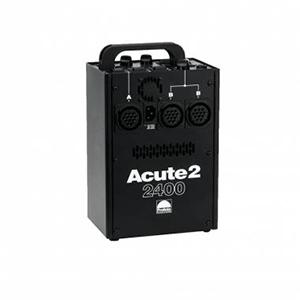 Profoto Acute2 2400 Watt Power Pack   Includes: power pack, power cord, sync cord & pocket wizard. Bulit-in pocket wizard. 3 lamphead sockets.  Daily Rental Rate $25.00 Weekly Rental Rate $100.00