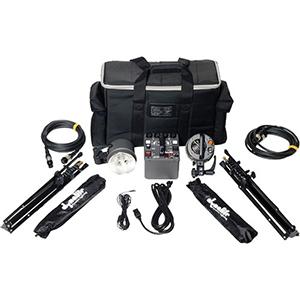 Dynalite Roadmax 800 Watt Lighting Kit   Includes: 800 watt power pack, 2 strobes, 2 stands, 2 umbrellas, pocket wizard and carrying case.  Daily Rental Rate $35.00 Weekly Rental Rate $140.00