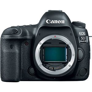Canon EOS 5D Mark IV Digital SLR Camera Body Only  Daily Rental $150.00 Weekly Rental $600.00