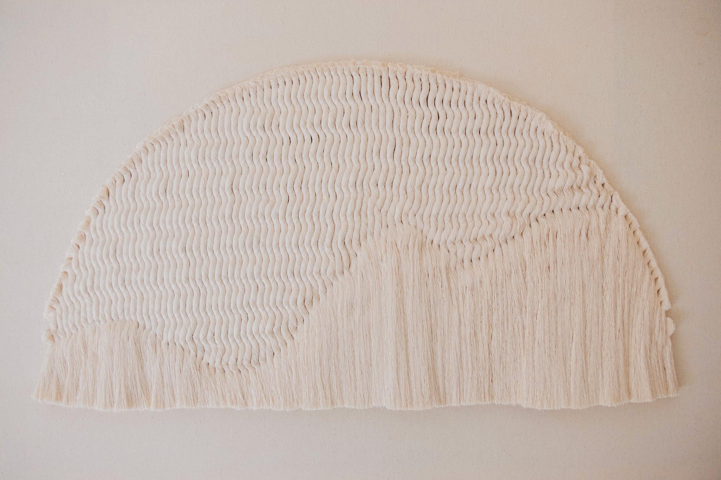 FIBER ART BY TIFFANY LUSTEG OF KINDRED + COPPER