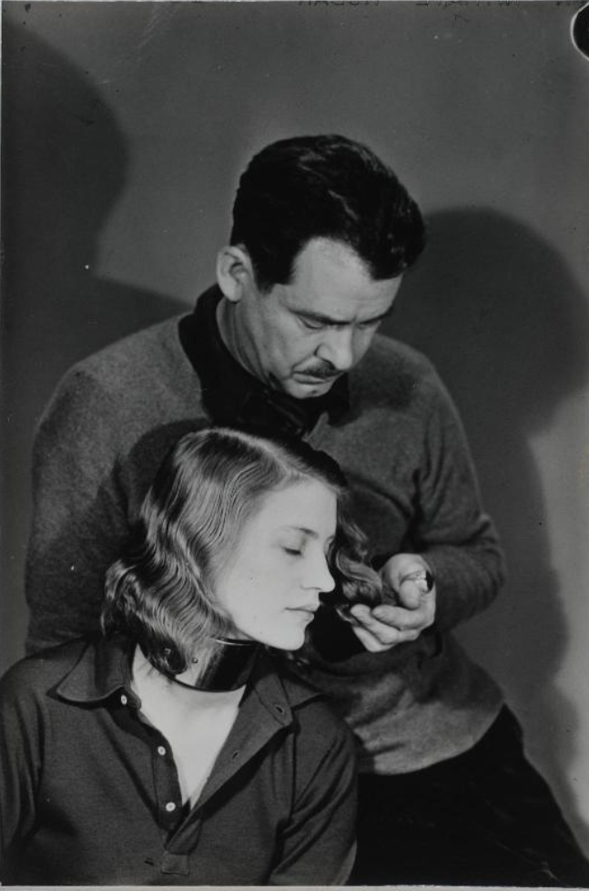 William Seabrook with Lee Miller