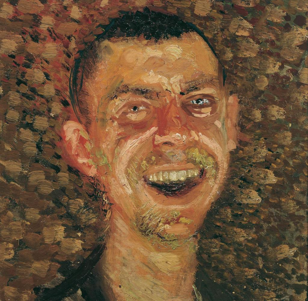 Self-portrait by Austrian painter Richard Gerstl (1883—1908)