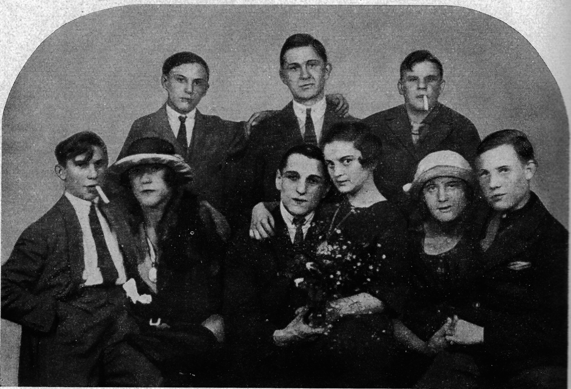 Transvestite and transgender sex workers at the popular Berlin gay bar Marienkasino in the 1920s.