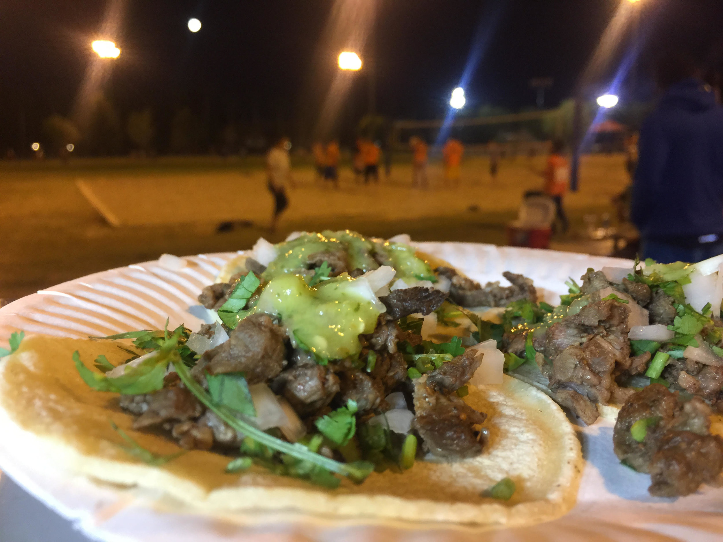 Taco Bar for Sports Event at Sunset Park