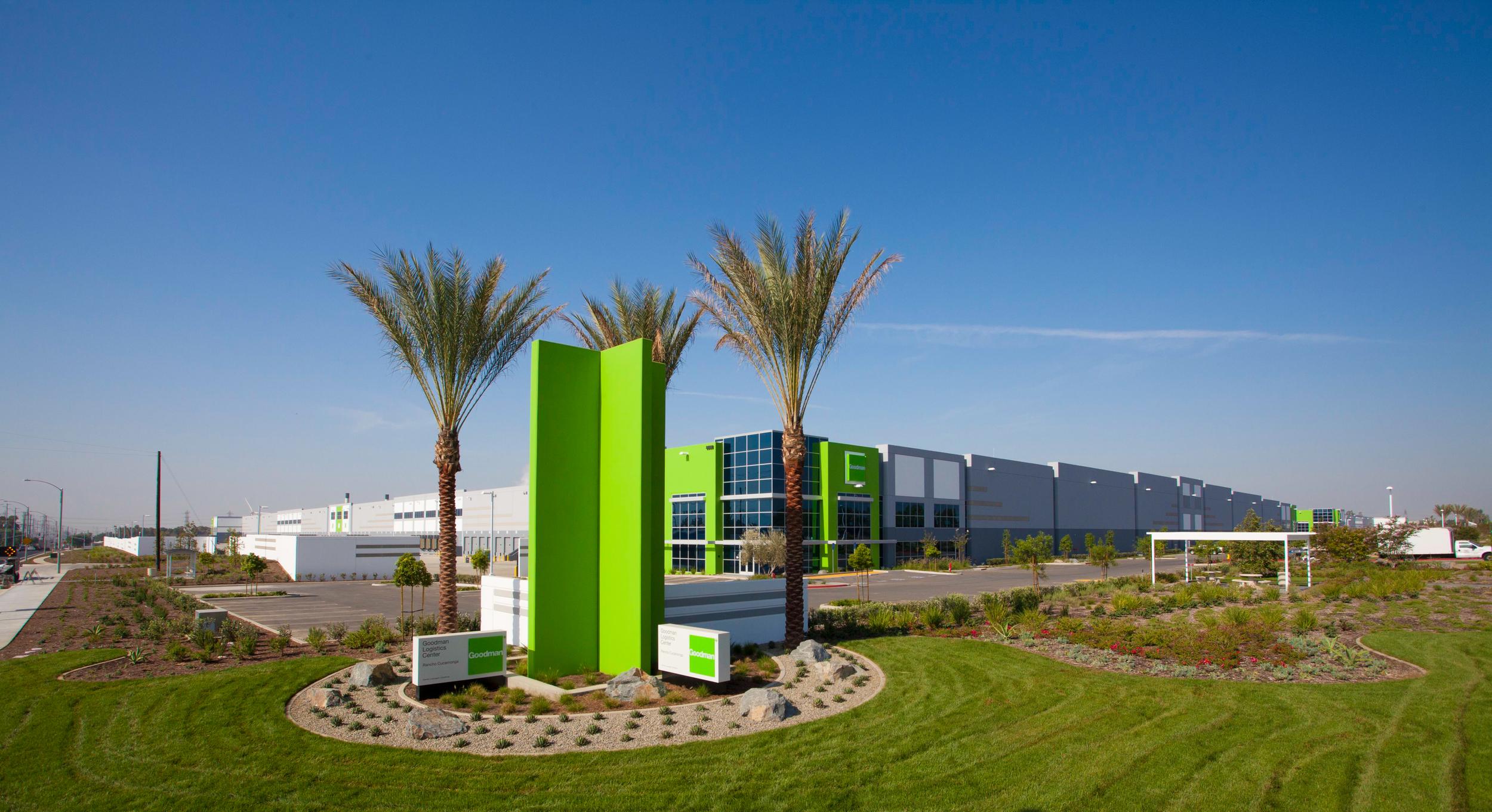 Goodman logistics center - Rancho Cucamonga