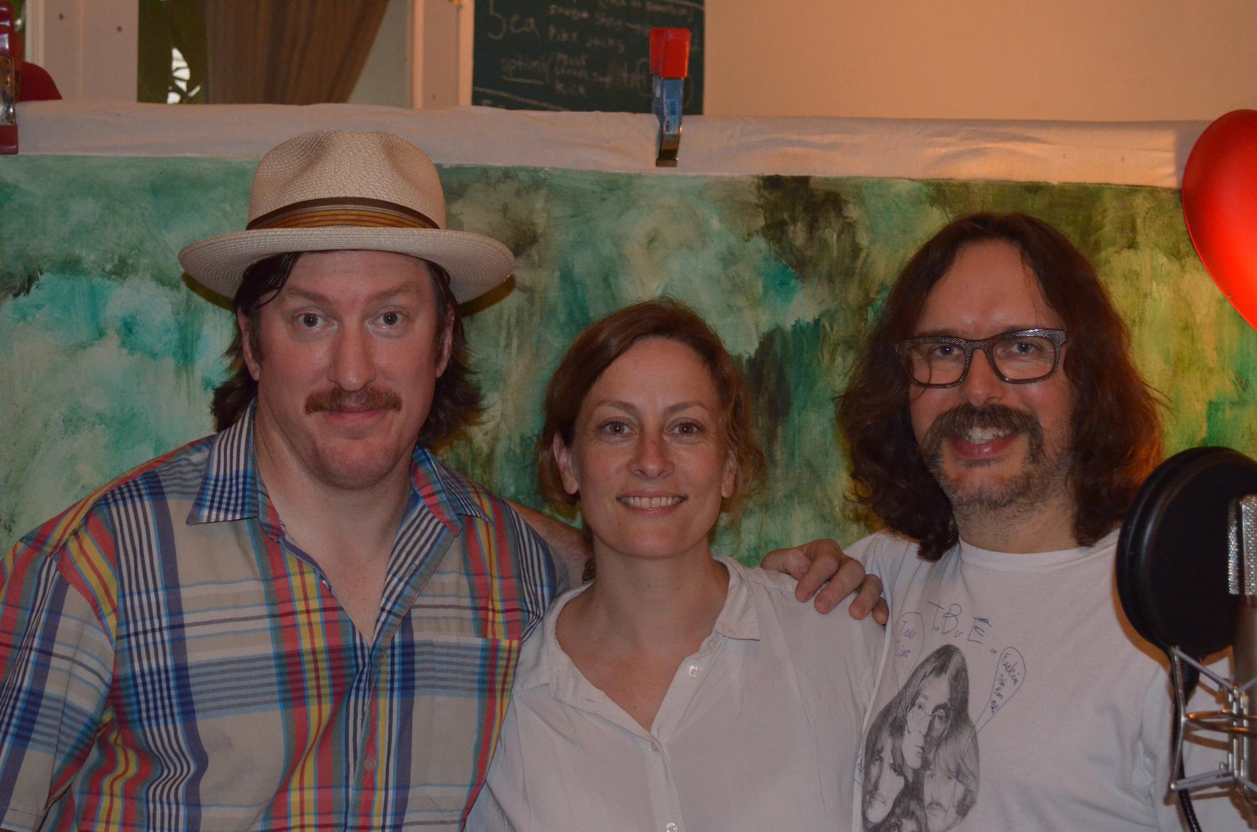 JOe Lapinski, Sarah Harmer & Dave Clark
