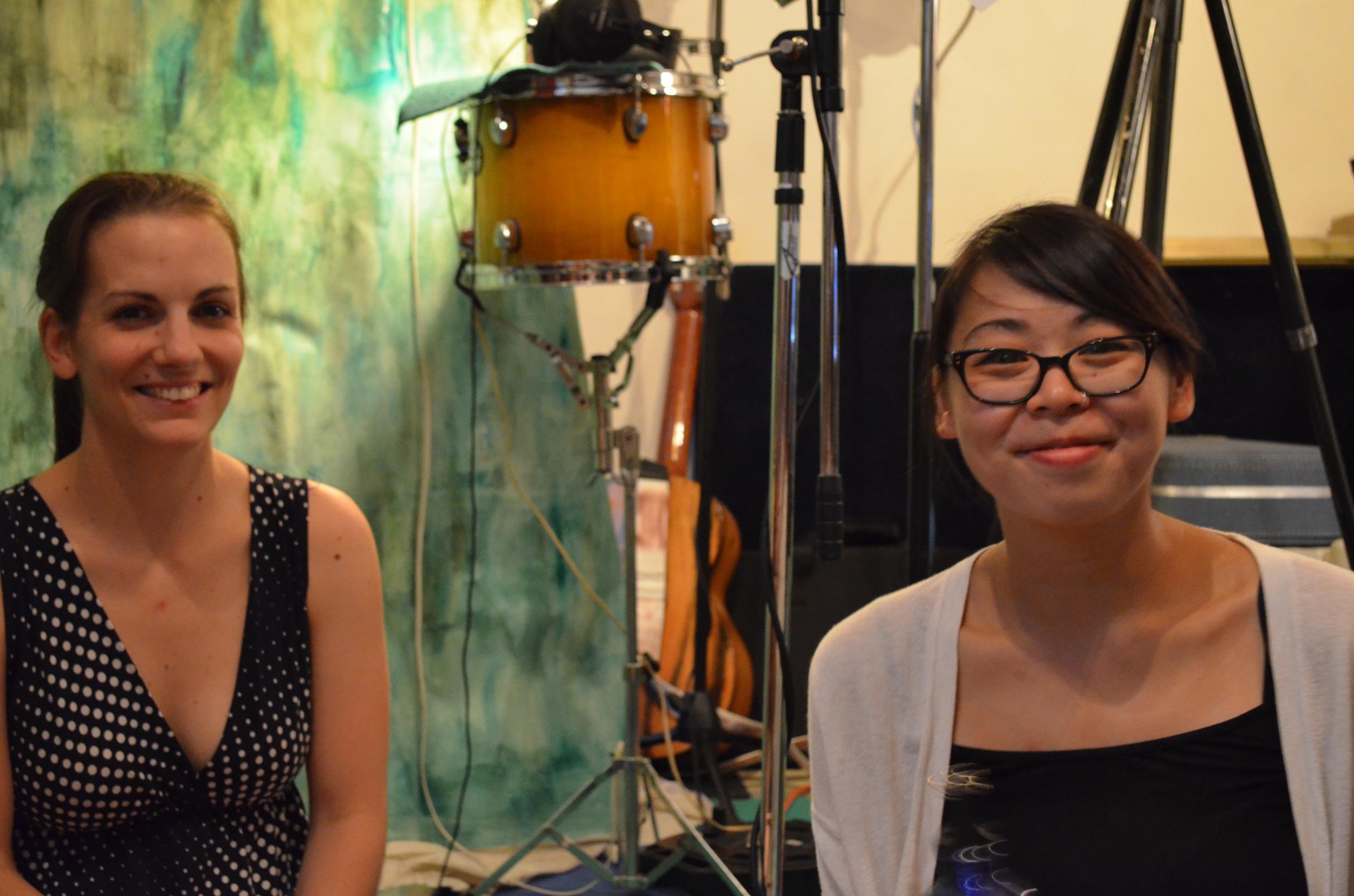 Rebecca Hennessy & Karen Ng