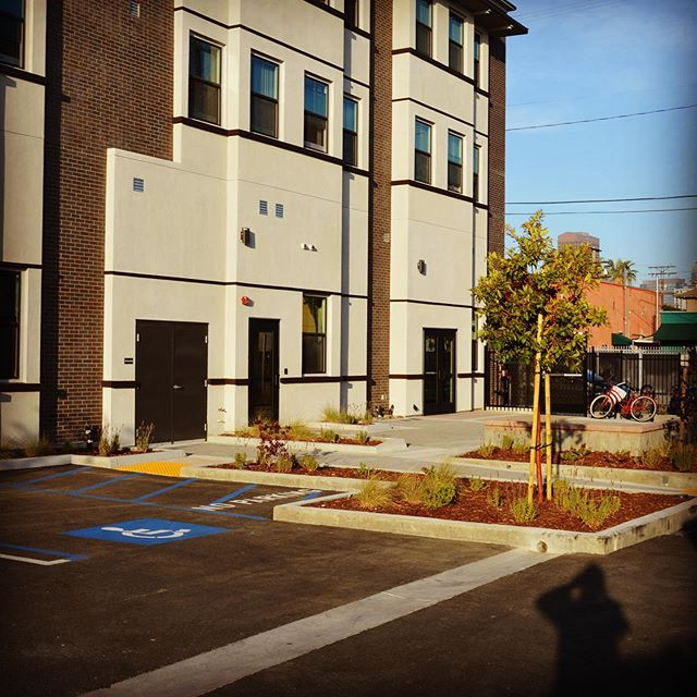 That's a wrap! Casa Carmen, installed with new residents all moved in. What a special project this has been. My first new construction / commercial project, and most special, housing for formerly homeless seniors. Interior photography coming soon! 🏠