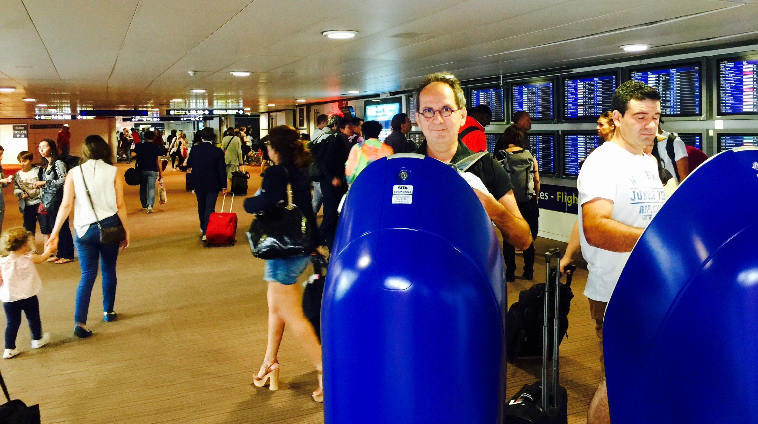 Paris Charles De Gaulle Airport - digital changing the travel experience