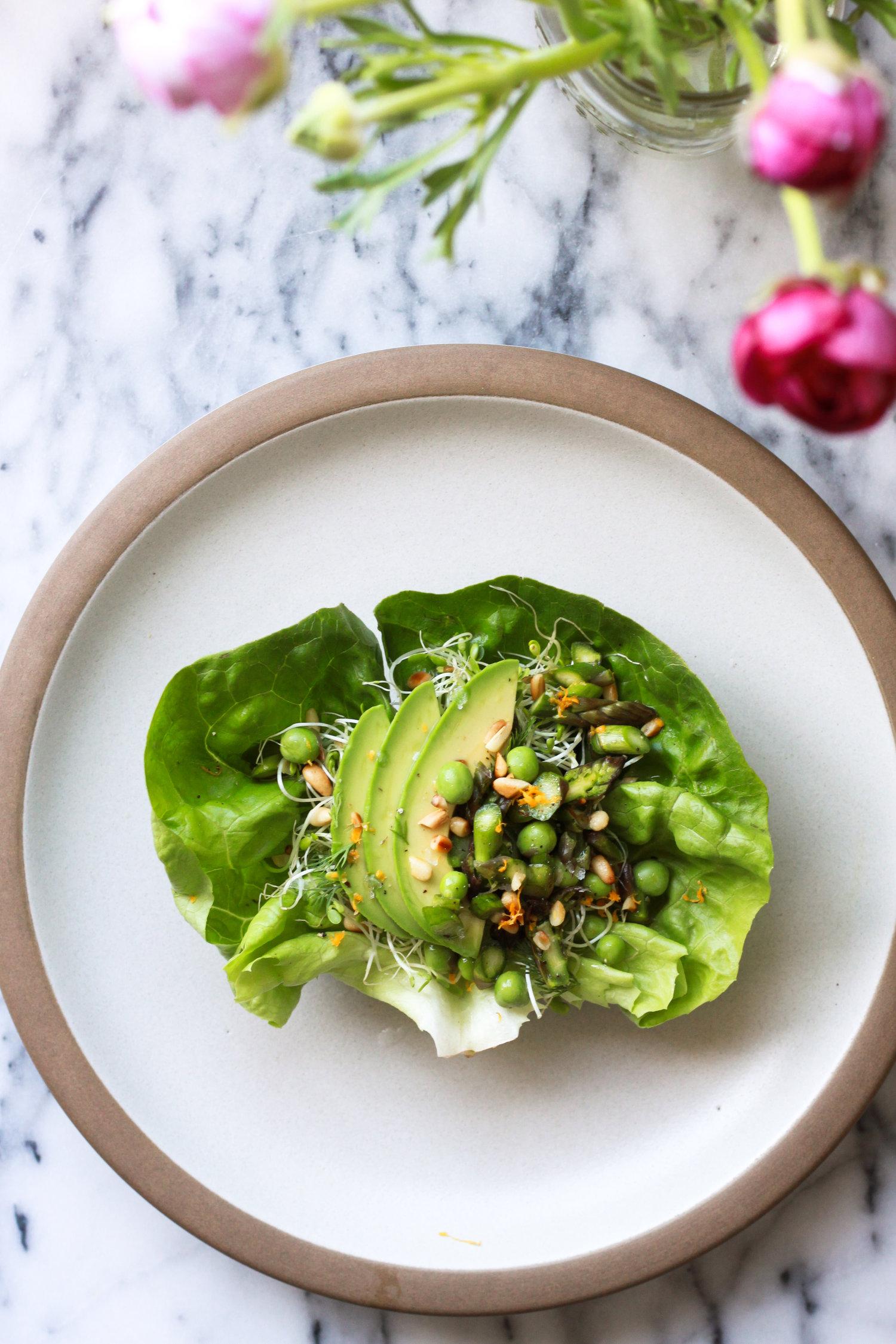 Salad Blog Pollinate Journal