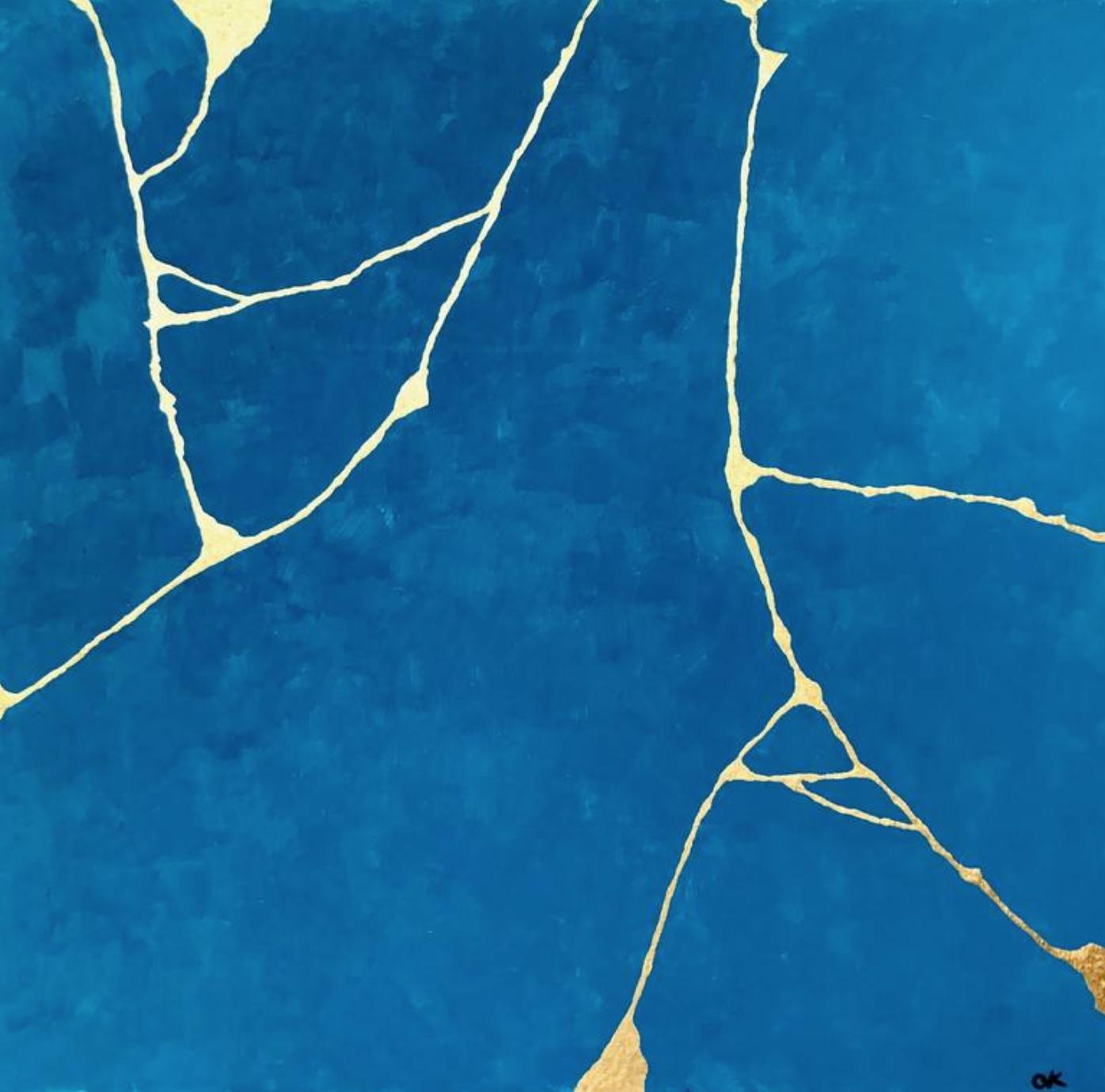 """Claire Knapp, """"Kintsugi Concept #1."""" Saatchi Gallery."""