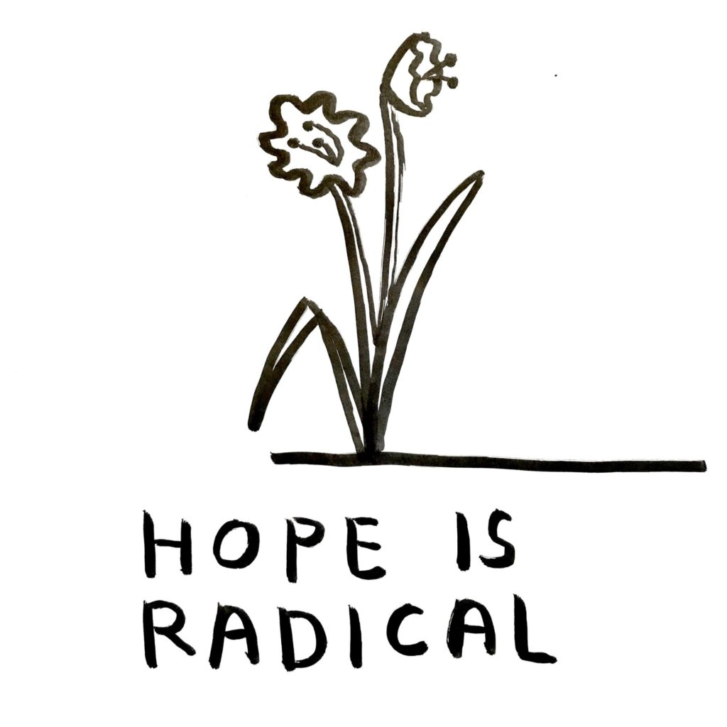 "Carissa Potter, ""Hope is Radical""."