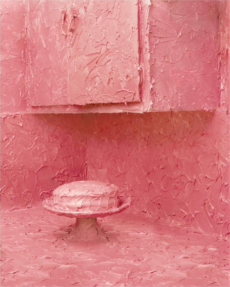 """©Carolyn Mason, """"Pink Frosting,"""" 2004."""