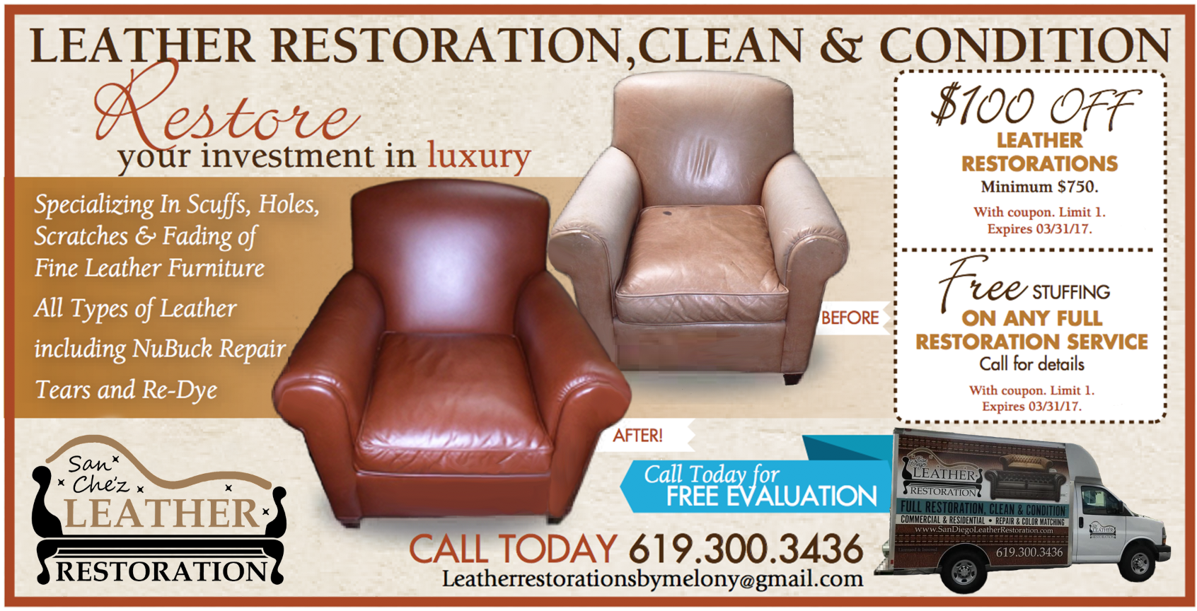 Sanchez Restoration Flyer