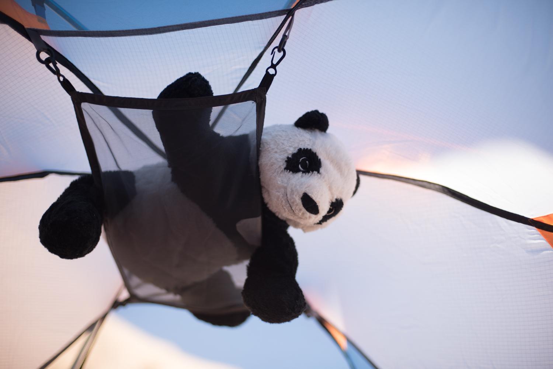 Little gear loft - great for a lantern, a book, keys... a panda...