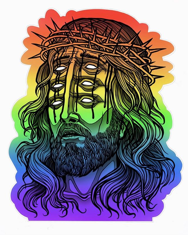 Super Rainbow Jesus