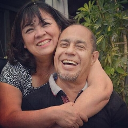 Fernando Perez and Rebeca Gonzales, our dear friends and fellow travelers from Mexico City!