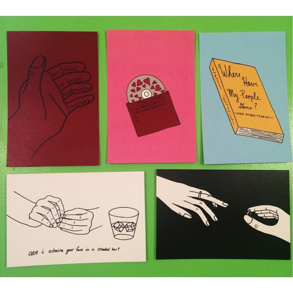#2 - Various illustrated postcardsNovember 2014