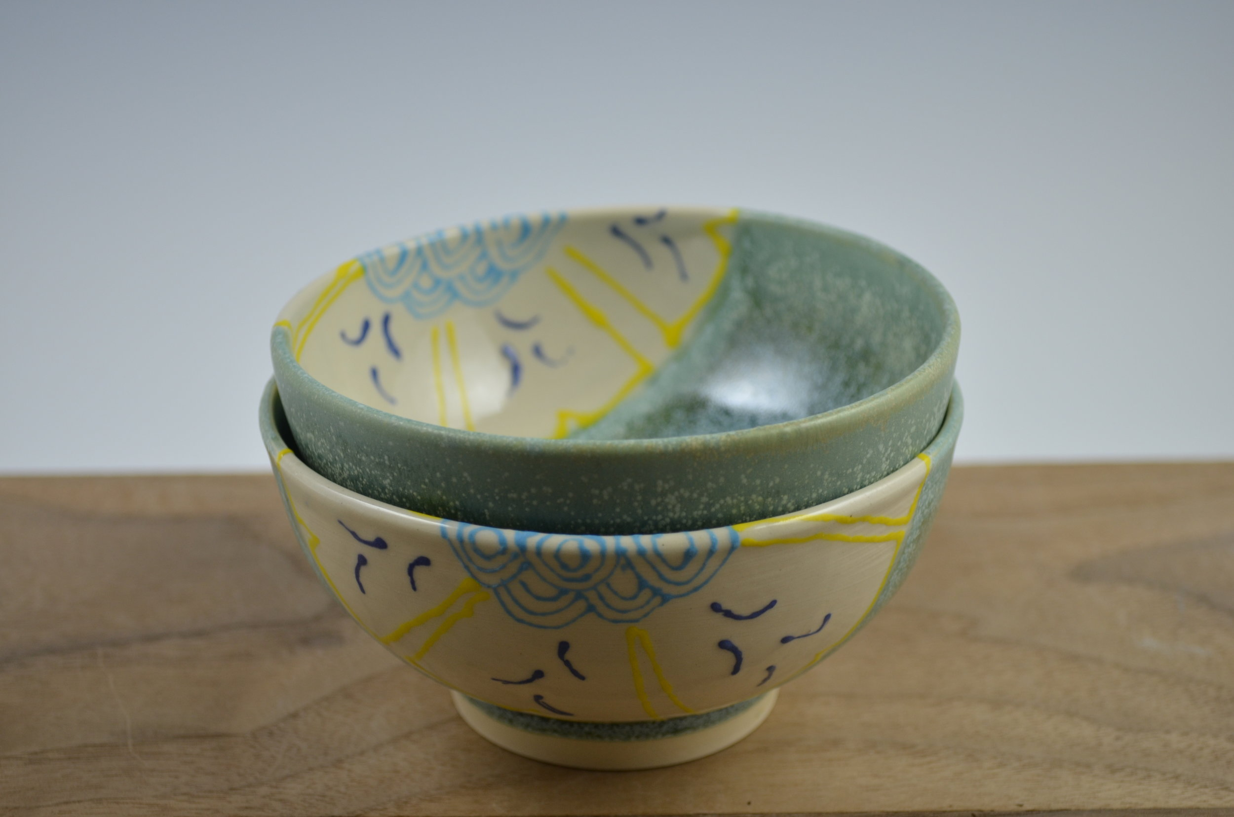 Prep Bowls in Signature Floral